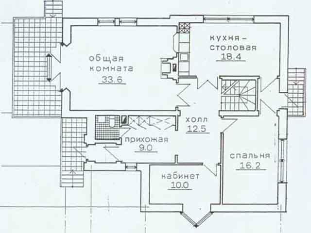 План -проект дома