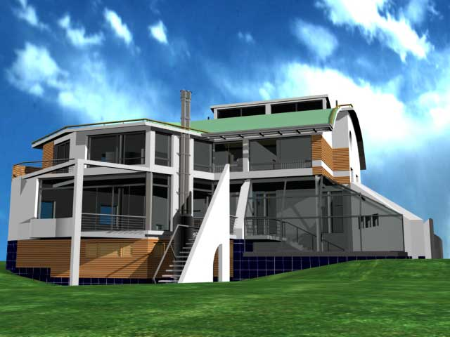 Авангардный дом