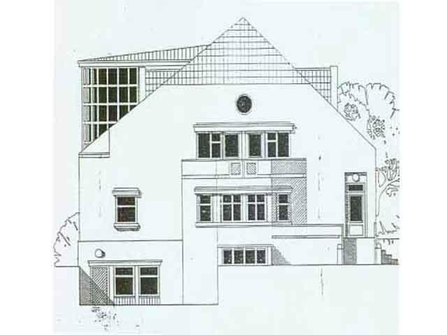 вид жилого дома