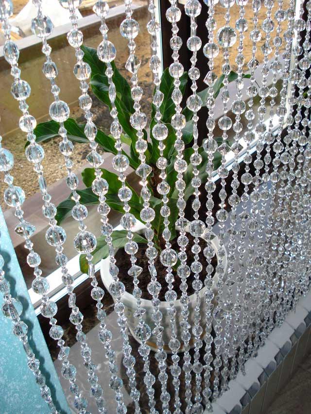 шторы из пластика