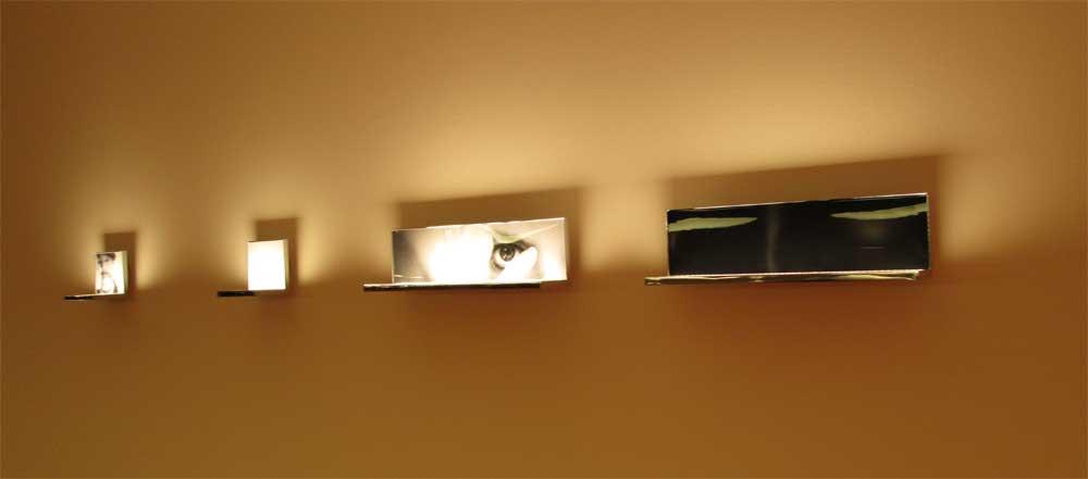 Современный дизайн настенных светильников