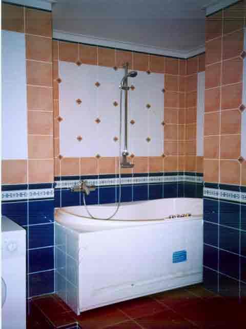 панно для больших ваннах комнат