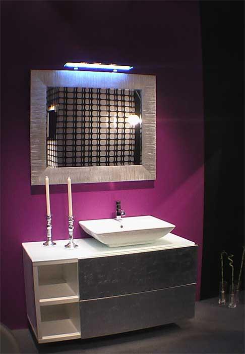 Вариант отделки ванной комнаты