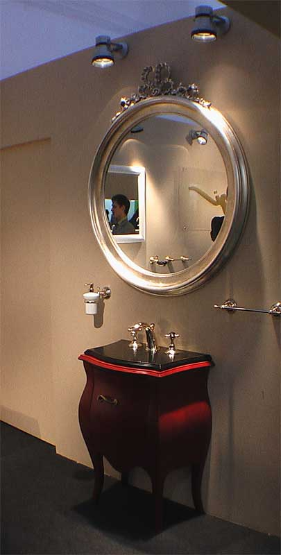 Вариант стиля оформления ванной комнаты