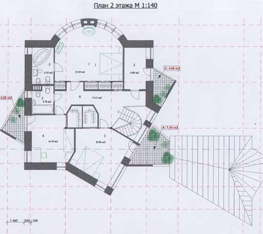 эскизный план дома