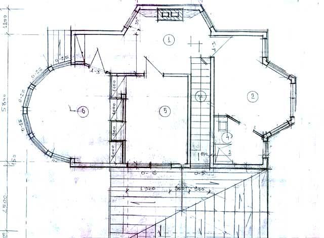 второй этаж план дом с верандой