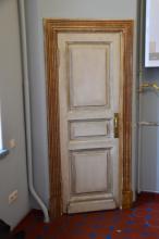 авторский декор старых и новых дверей в стиле прованс